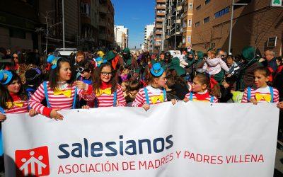 El AMPA sale a la calle para celebrar el Carnaval 2018