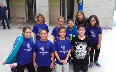 PISTOLETAZO DE SALIDA A LOS JUEGOS ESCOLARES EN EL COLEGIO SALESIANO                (Fase municipal) 1ª Jornada 04-11-17