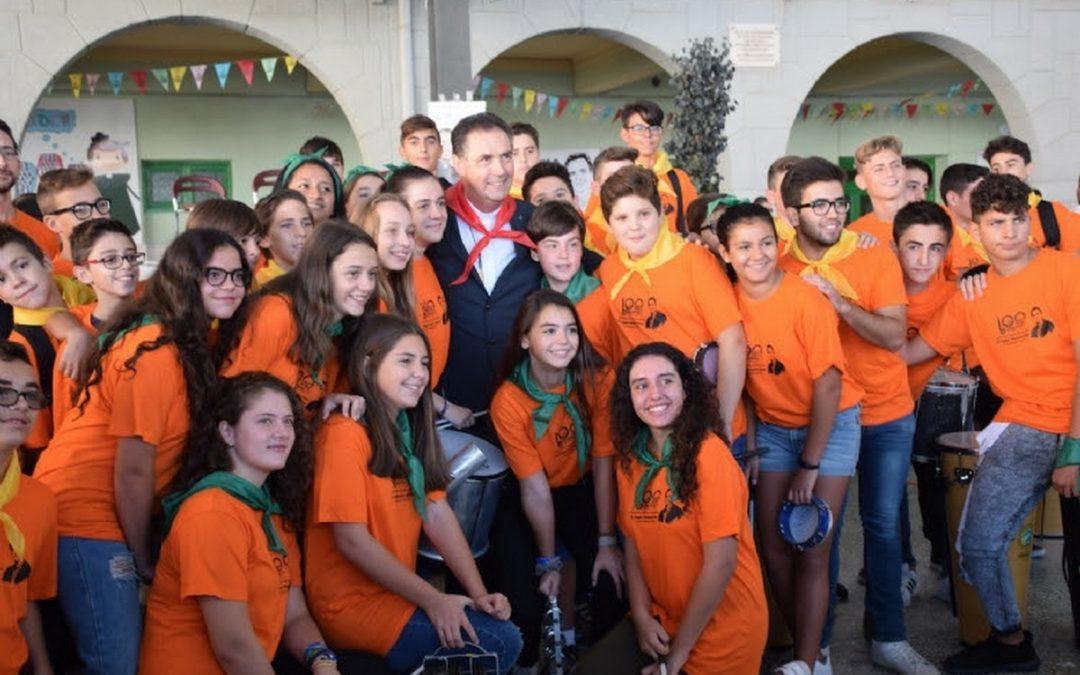 Visita del Rector Mayor a la Familia Salesiana de Villena