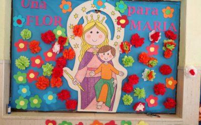 Una flor para María