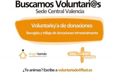 Únete a nuestro equipo de voluntariado