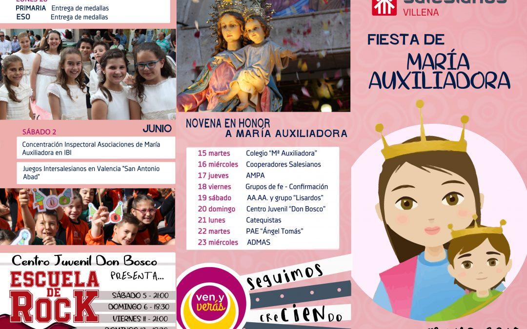 MAYO: Mes en honor a María Auxiliadora