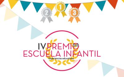 ¡Somos finalistas en la IV Edición de Premios Escuela Infantil!