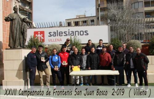 Campeonato Frontenis Don Bosco 2019