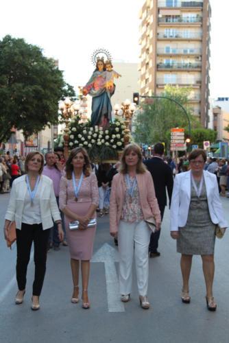 Eucaristía y procesión Mª Auxiliadora
